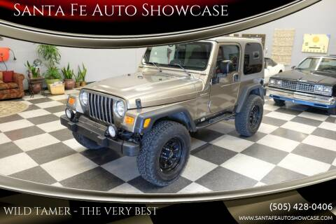2003 Jeep Wrangler for sale at Santa Fe Auto Showcase in Santa Fe NM