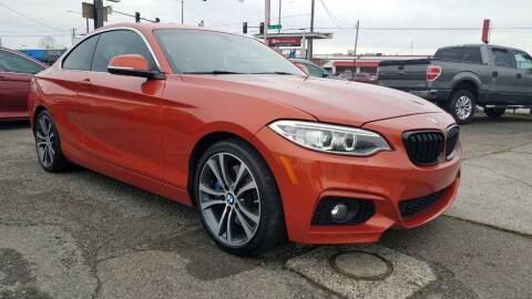 2016 BMW 2 Series for sale at Seattle's Auto Deals in Everett WA