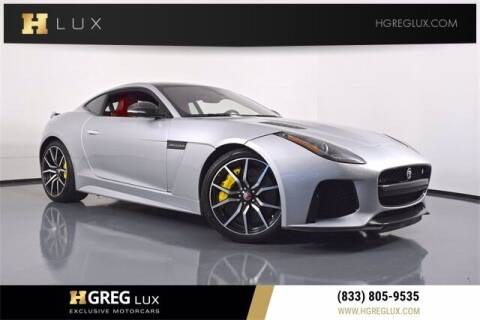 2017 Jaguar F-TYPE for sale at HGREG LUX EXCLUSIVE MOTORCARS in Pompano Beach FL