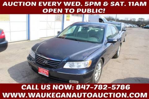 2007 Hyundai Azera for sale at Waukegan Auto Auction in Waukegan IL