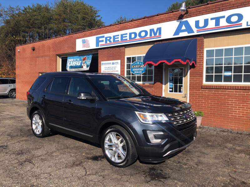 2017 Ford Explorer for sale at FREEDOM AUTO LLC in Wilkesboro NC