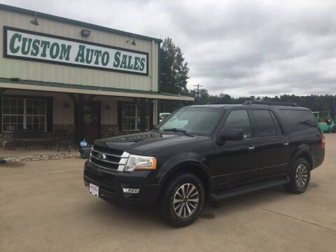 2015 Ford Expedition EL for sale at Custom Auto Sales - AUTOS in Longview TX