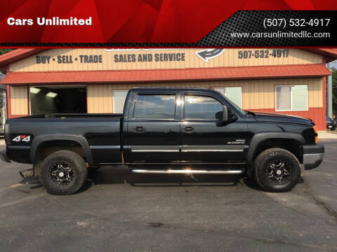 2007 Chevrolet Silverado 2500HD Classic for sale at Cars Unlimited in Marshall MN