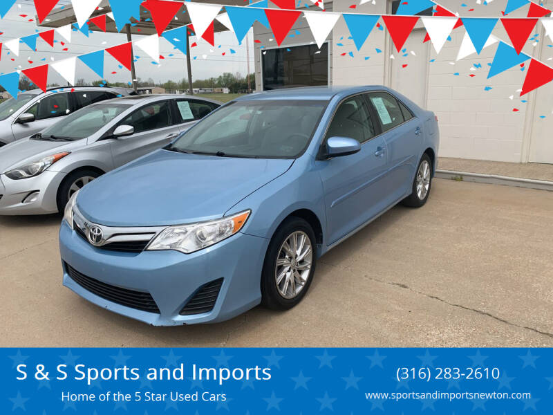 2014 Toyota Camry for sale at S & S Sports and Imports in Newton KS