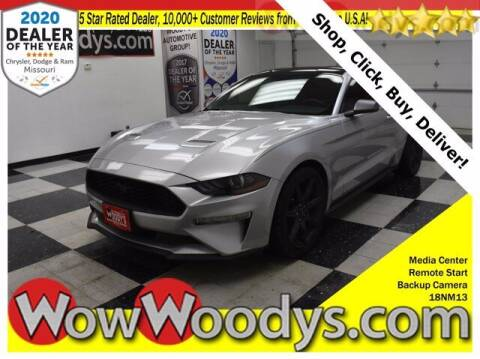 2018 Ford Mustang for sale at WOODY'S AUTOMOTIVE GROUP in Chillicothe MO