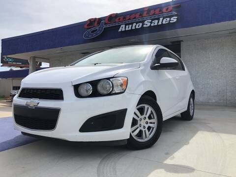 2012 Chevrolet Sonic for sale at el camino auto sales in Gainesville GA