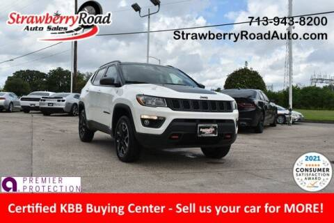 2020 Jeep Compass for sale at Strawberry Road Auto Sales in Pasadena TX