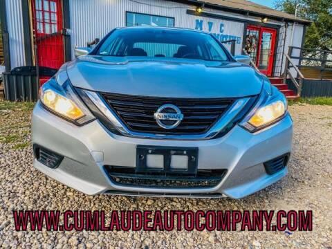 2017 Nissan Altima for sale at MAGNA CUM LAUDE AUTO COMPANY in Lubbock TX