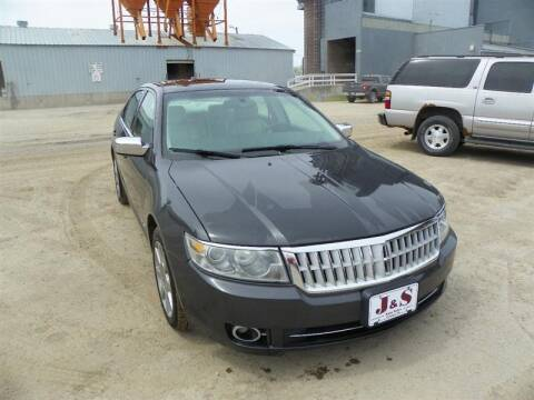 2007 Lincoln MKZ for sale at J & S Auto Sales in Thompson ND