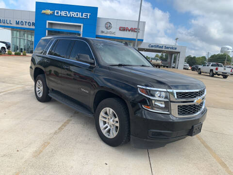 2017 Chevrolet Tahoe for sale at BULL MOTOR COMPANY in Wynne AR