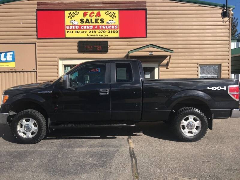 2012 Ford F-150 for sale at FCA Sales in Motley MN