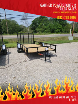 """2021 Heartland 14'x76"""" Utility with Gate for sale at Gaither Powersports & Trailer Sales in Linton IN"""