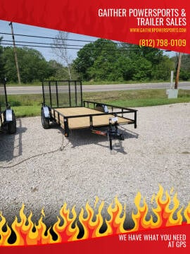 """Heartland 14'x76"""" Utility with Gate for sale at Gaither Powersports & Trailer Sales in Linton IN"""