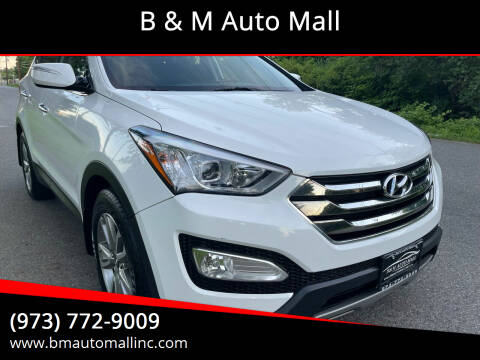 2014 Hyundai Santa Fe Sport for sale at B & M Auto Mall in Clifton NJ