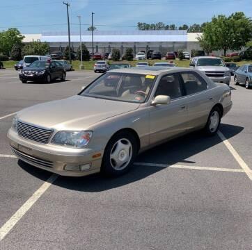 2000 Lexus LS 400 for sale at STARLITE AUTO SALES LLC in Amelia OH
