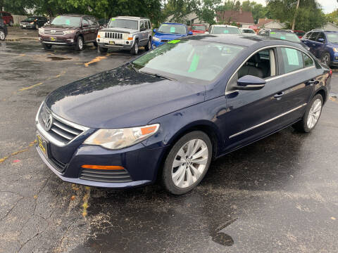 2012 Volkswagen CC for sale at PAPERLAND MOTORS in Green Bay WI