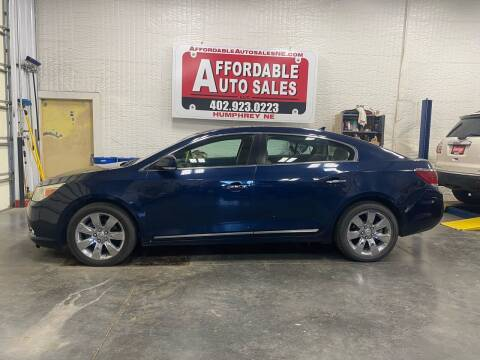 2011 Buick LaCrosse for sale at Affordable Auto Sales in Humphrey NE