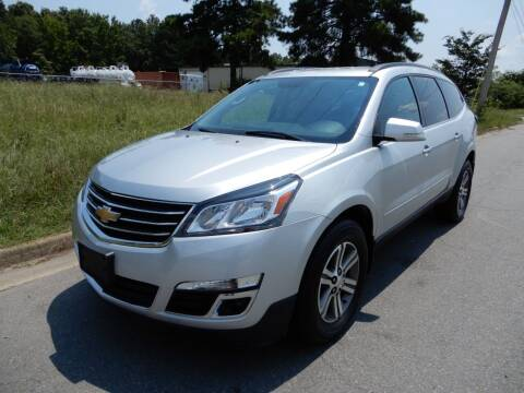 2017 Chevrolet Traverse for sale at United Traders Inc. in North Little Rock AR