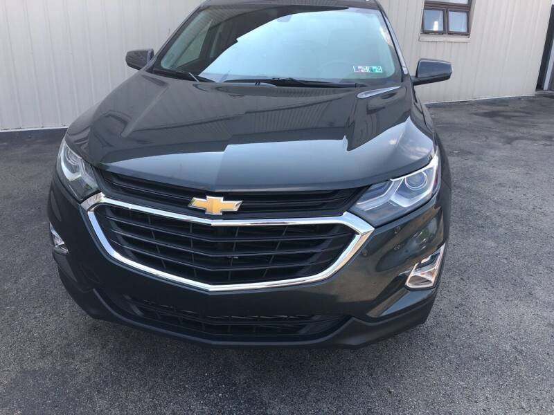 2018 Chevrolet Equinox for sale at Berwyn S Detweiler Sales & Service in Uniontown PA