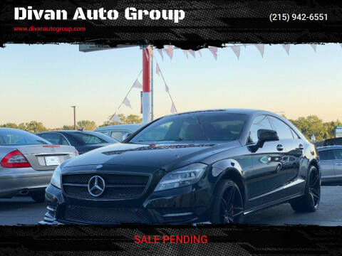 2012 Mercedes-Benz CLS for sale at Divan Auto Group in Feasterville Trevose PA