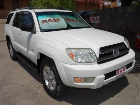 2005 Toyota 4Runner for sale at R & D Motors in Austin TX