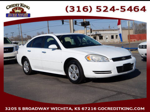 2010 Chevrolet Impala for sale at Credit King Auto Sales in Wichita KS