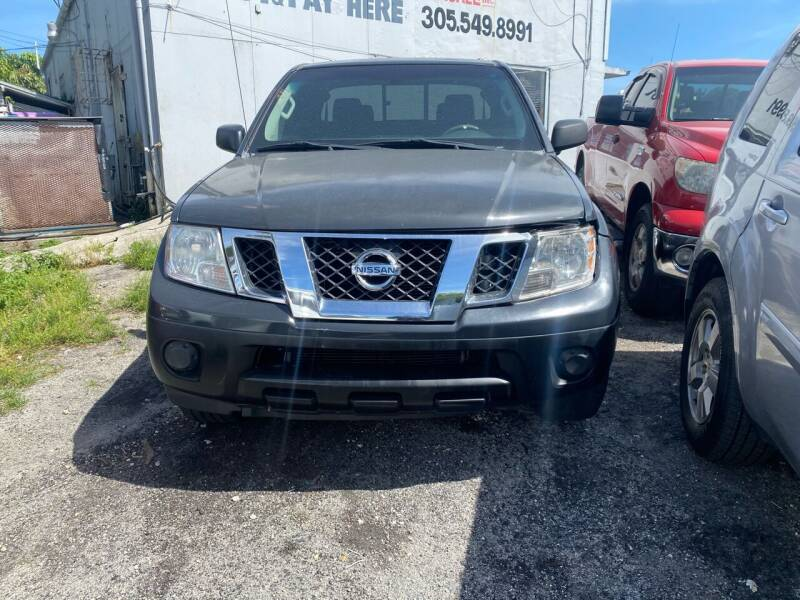 2012 Nissan Frontier for sale at America Auto Wholesale Inc in Miami FL