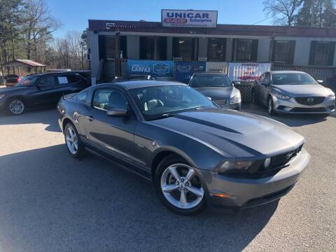 2010 Ford Mustang for sale at Unicar Enterprise in Lexington SC
