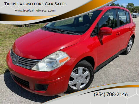 2007 Nissan Versa for sale at Tropical Motors Car Sales in Deerfield Beach FL