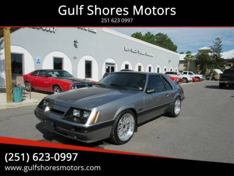 1986 Ford Mustang for sale at Gulf Shores Motors in Gulf Shores AL