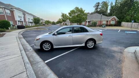 2009 Toyota Corolla for sale at A LOT OF USED CARS in Suwanee GA