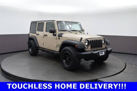 2016 Jeep Wrangler Unlimited for sale at M & I Imports in Highland Park IL