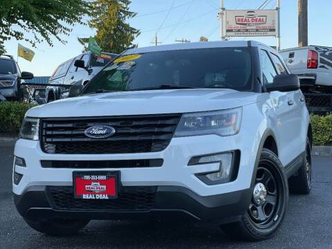 2017 Ford Explorer for sale at Real Deal Cars in Everett WA