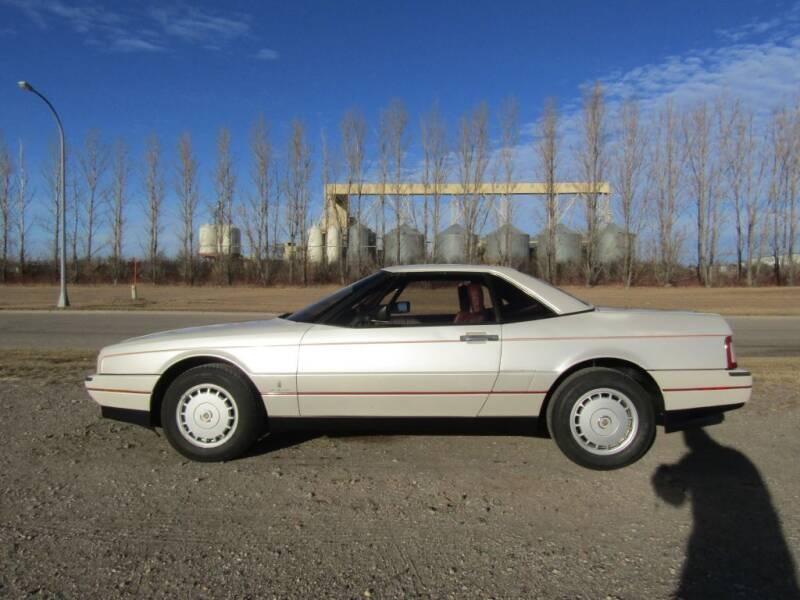 1987 Cadillac Allante for sale at Elliott Auto Sales in Moorhead MN