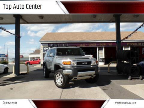 2007 Toyota FJ Cruiser for sale at Top Auto Center in Quakertown PA