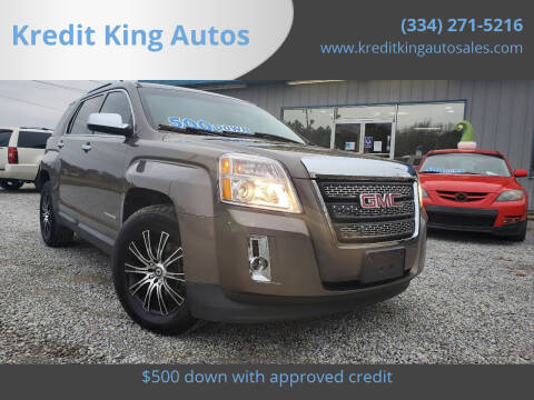 2011 GMC Terrain for sale at Kredit King Autos in Montgomery AL