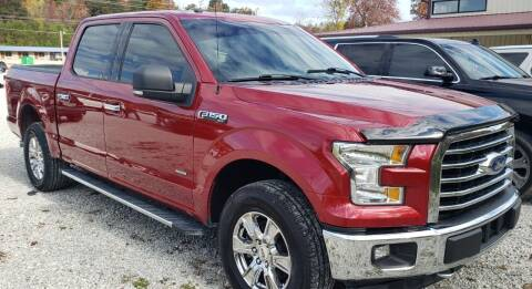 2016 Ford F-150 for sale at COOPER AUTO SALES in Oneida TN