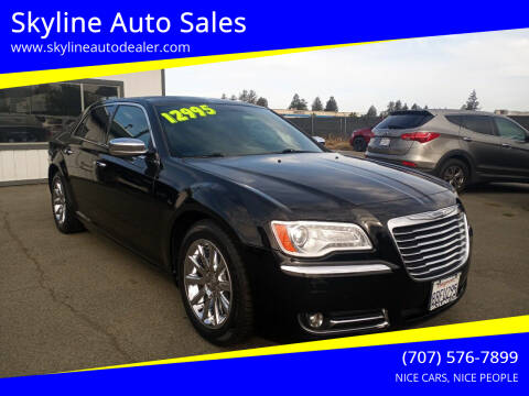 2012 Chrysler 300 for sale at Skyline Auto Sales in Santa Rosa CA
