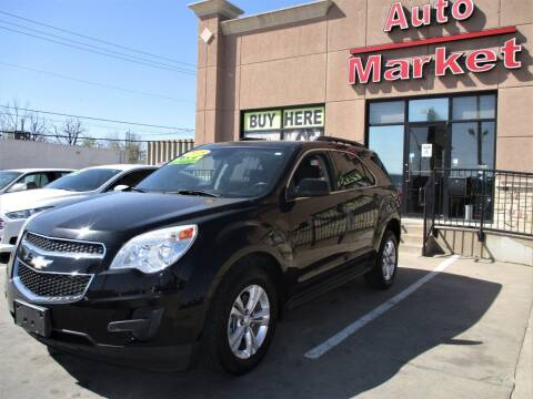 2015 Chevrolet Equinox for sale at Auto Market in Oklahoma City OK