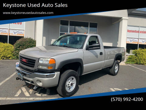 2005 GMC Sierra 2500HD for sale at Keystone Used Auto Sales in Brodheadsville PA
