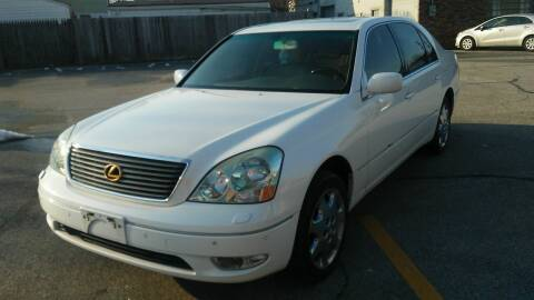2003 Lexus LS 430 for sale at USA AUTO WHOLESALE LLC in Cleveland OH