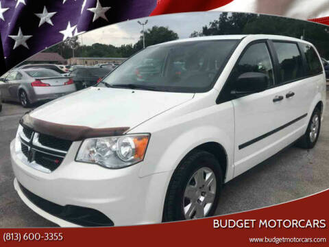 2012 Dodge Grand Caravan for sale at Budget Motorcars in Tampa FL