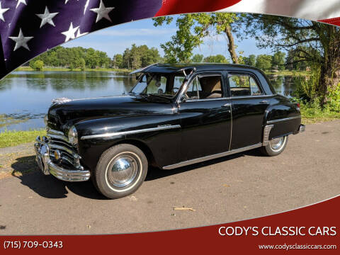 1949 Plymouth Deluxe for sale at Cody's Classic Cars in Stanley WI