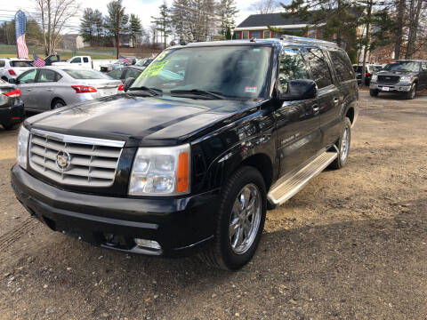 2005 Cadillac Escalade ESV for sale at Winner's Circle Auto Sales in Tilton NH