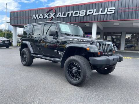 2012 Jeep Wrangler Unlimited for sale at Maxx Autos Plus in Puyallup WA