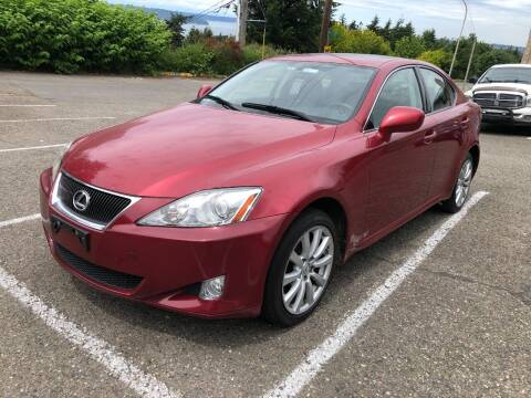 2007 Lexus IS 250 for sale at KARMA AUTO SALES in Federal Way WA