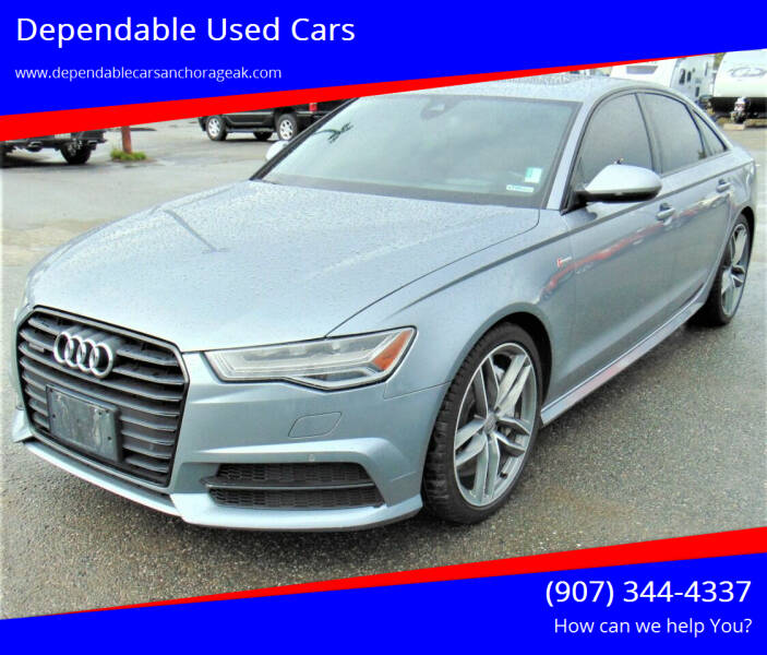 2016 Audi A6 for sale at Dependable Used Cars in Anchorage AK