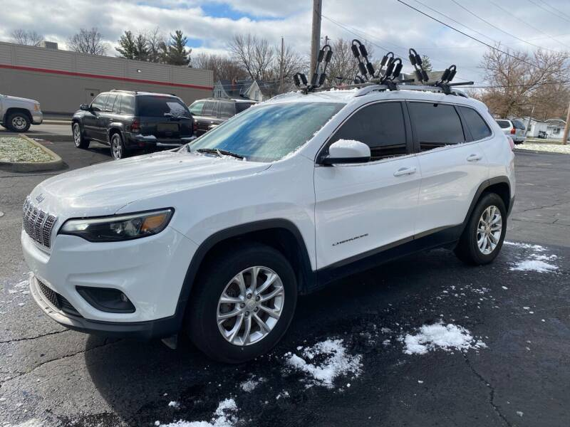 2019 Jeep Cherokee for sale at MARK CRIST MOTORSPORTS in Angola IN