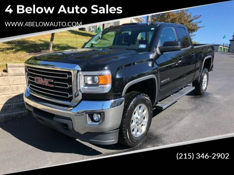 2015 GMC Sierra 2500HD for sale at 4 Below Auto Sales in Willow Grove PA