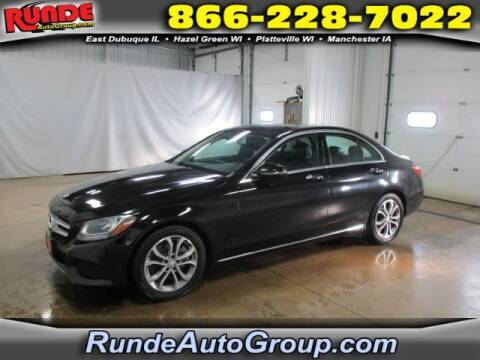 2017 Mercedes-Benz C-Class for sale at Runde Chevrolet in East Dubuque IL